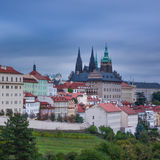 Vista do castelo de Praga Foto de Stock Royalty Free
