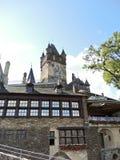 Vista do castelo imperial de Cochem em Alemanha Fotografia de Stock Royalty Free