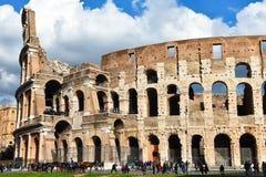 Vista do Colosseum Imagem de Stock