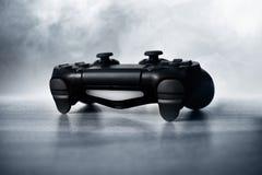 Vista do controlador dos jogos de vídeo Foto de Stock Royalty Free