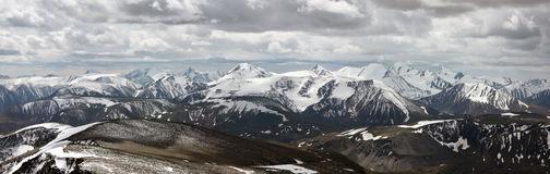 Vista do cume sul de Chuya Imagem de Stock Royalty Free
