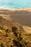 Vista do del Rio de Mirador, Lanzarote. Imagens de Stock Royalty Free