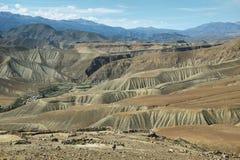 Vista do deserto de Imagens de Stock