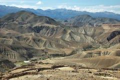 Vista do deserto de Fotos de Stock Royalty Free