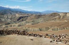 Vista do deserto de Imagens de Stock Royalty Free