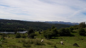Vista do distrito do lago Imagens de Stock