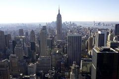 Vista do Empire State Building Fotografia de Stock