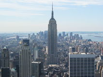 Vista do Empire State Building Foto de Stock Royalty Free
