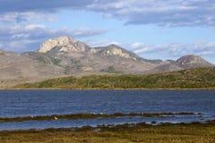 Vista do estuário da baía de Morro Imagens de Stock Royalty Free