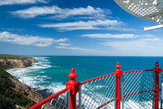 Vista do farol Foto de Stock Royalty Free