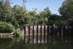 Vista do feltro de lubrificação de Hackney Imagem de Stock Royalty Free
