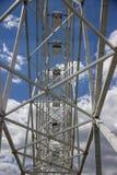 A vista do Ferris roda dentro a tarde foto de stock royalty free