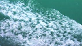 Vista do golfo de Sião da balsa na maneira a Koh Chang Island filme