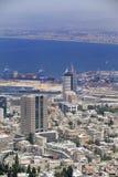 Vista do Haifa Foto de Stock Royalty Free