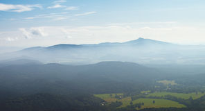 Vista do Hochwald Foto de Stock Royalty Free