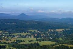Vista do Hochwald Fotografia de Stock