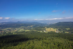 Vista do Hochwald Foto de Stock