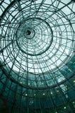 Vista do interior da torre do metal Fotos de Stock