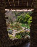Vista do jardim de chá japonês Imagens de Stock