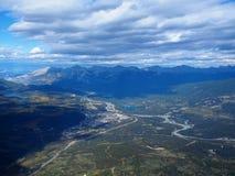 Vista do jaspe, Canadá Fotografia de Stock