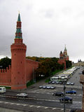 Vista do Kremlin Foto de Stock