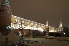 Vista do Kremlin e o centro histórico de Moscou Fotos de Stock