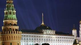 Vista do Kremlin, Moscou, Rússia--a vista a mais popular de Moscou filme