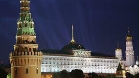 Vista do Kremlin, Moscou, Rússia--a vista a mais popular de Moscou vídeos de arquivo