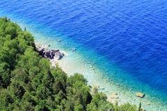 Vista do lago Imagens de Stock Royalty Free
