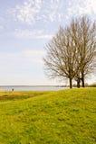 Vista do lago de Madine Fotos de Stock