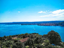 Vista do lago Maggiore Fotos de Stock Royalty Free