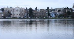 Vista do lago Merritt 4K do ` s de Oakland video estoque