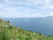 Vista do lago Titicaca Fotos de Stock Royalty Free