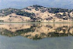 Vista do lago Zazari fotos de stock