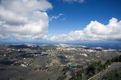 Vista do Las Palmas Gran Canaria fotografia de stock royalty free