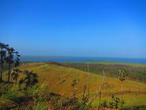 Vista do local de lançamento da crise de míssil cubano, ilha da juventude Cuba Fotos de Stock Royalty Free