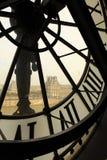 Vista de Paris. Imagem de Stock