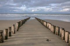 Vista do Mar do Norte Imagem de Stock Royalty Free