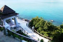 Vista do mar mim Imagem de Stock Royalty Free