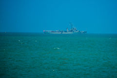 Vista do mar tailândia Imagens de Stock Royalty Free