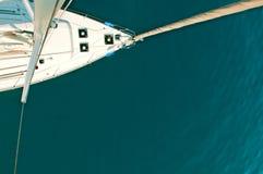 Vista do mastro Foto de Stock