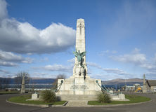 Memorial de guerra de Greenock Fotos de Stock