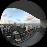 Vista do meu balkony Fotos de Stock Royalty Free