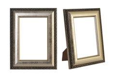 Vista do monitor da tevê do Internet do tela panorâmico isolado no branco Fotos de Stock Royalty Free