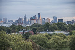 A vista do monte da prímula, Londres; o parque Fotografia de Stock Royalty Free
