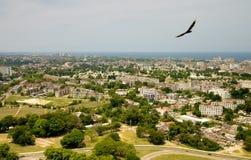 Vista do monumento de Marti da mangueira Fotos de Stock
