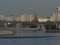 A vista do Moscou-rio Foto de Stock Royalty Free