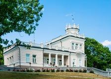 Vista do museu da cidade Druskininkai fotos de stock royalty free