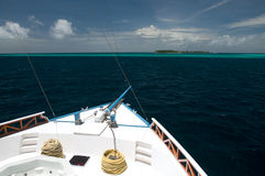 Vista do navio Imagem de Stock Royalty Free