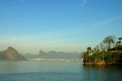 Vista do oceano Fotos de Stock